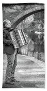 Philadelphia Music Man Bnw Beach Sheet