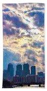 Philadelphia Sky Beach Towel