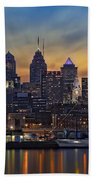 Philadelphia Skyline Beach Towel