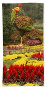 Phoenix In Summer Palace Beach Towel