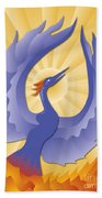 Phoenix Rising Beach Towel