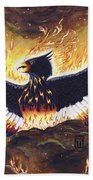 Phoenix Rising Beach Towel