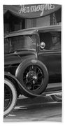 Photographer's 1928 Truck Beach Towel