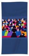 Piaf Aka A Tribute To Edith Piaf Beach Towel