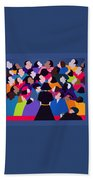 Piaf Aka A Tribute To Edith Piaf Beach Towel