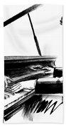 Pianist Beach Towel
