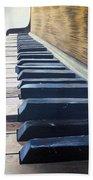 Piano Perspective Beach Towel