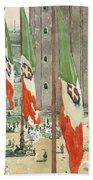 Piazza Di San Marco Beach Sheet