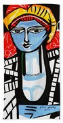 Picasso By Nora  Film Star Beach Towel