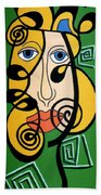 Picasso Influence Beach Towel