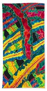 Picasso Paintbrush Croton Beach Towel