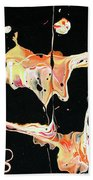 Picassos In Space Beach Towel