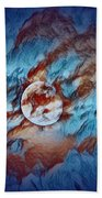 Picasso's Moon Beach Towel