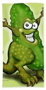 Pickle Monster Beach Towel