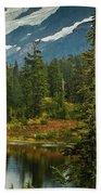 Picture Lake Vista Beach Towel