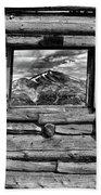 Picture Window #3 Beach Towel