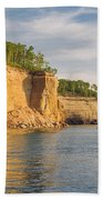 Pictured Rock Beach Towel
