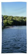 Pictured Rocks Lighthouse Beach Towel