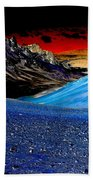 Pictures From Venus Beach Towel by Rebecca Margraf