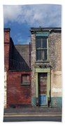 Picturesque Derelict Houses In Hull England Beach Sheet