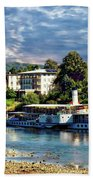 Picturesque River Cruise Beach Towel