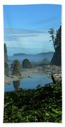 Picturesque Ruby Beach View Beach Towel