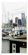 Picturesque Vancouver Harbor Beach Towel