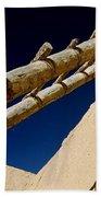 Picuris Pueblo Ladder. Beach Towel