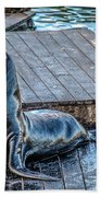 Pier 39 Beach Towel
