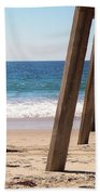 Pier On The Pacific Beach Towel