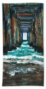 Pier One Beach Towel