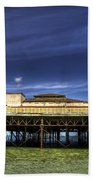 Pier Structure Beach Towel