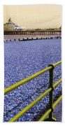 Pier View England Beach Towel