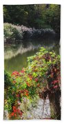 Piermont Fall Color Beach Towel