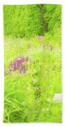 Piet Oudolf Garden At Tbg Beach Towel