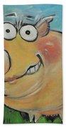 pig Beach Towel