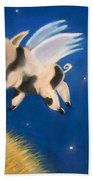 Pigs Might Fly Beach Towel
