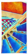 Pike Brewpub Stair Beach Towel