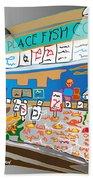 Pike Place Fish Co. Beach Sheet
