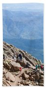 Pikes Peak Marathon And Ascent Beach Towel
