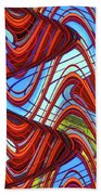 Pillars In The Sky Beach Towel