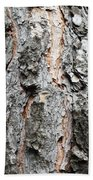 Pine Bark Beach Towel