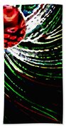 Pine Cone Abstract Beach Towel