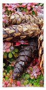 Pine Cones Art Print Botanical Garden Baslee Troutman Beach Towel