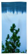 Pine On The River Beach Towel