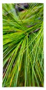Pine Tree Needles Beach Towel