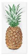 Pineapple Pencil Beach Sheet