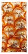 Pineapple Skin Texture Beach Towel