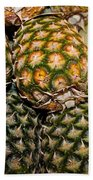 Pineapples And Melons Beach Towel