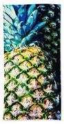 Pineapples Beach Towel